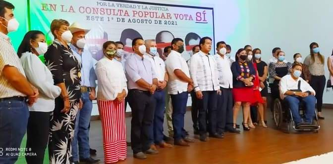 LA PRESIDENTE ELECTA, MAYTE ZAPATA ZAPATA REFRENDÓ SU COMPROMISO CON LA 4T