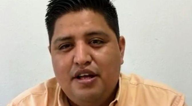 JORGE CABRERA, ALCALDE ELECTO DE PALENQUE, EXHORTA A NO AFLOJAR ANTE EL COVID-19